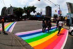 Davie & Bute street Vancouver