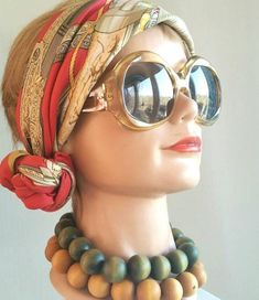 Excited to share this item from my shop: Vintage Aarikka Finland Wood Ball Modernist Bib Style Necklace. Different Shades Of Green, Wood Candle Holders, Wood Necklace, Glass Shades, Green Colors, Finland, Round Sunglasses, Modern Jewelry, Pendant