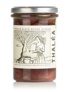"Kalamata black Olives ""THALEA"" 5.9oz"