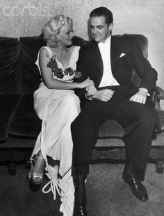 Jean Harlow, Howard Hughes
