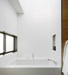 "White Ceramic Subway Tile 4"" X 16"" (Box of 11 Sqft)- Matte Finish - - Amazon.com"