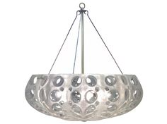 Cast Pierced Resin; Includes Canopy & 3-Foot Chain *five bulbs not to exceed 25W