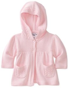 Hartstrings Baby-girls Newborn Hooded Sweater $48.00