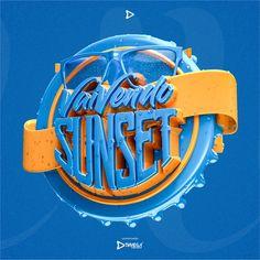 LOGO 3D C4D+OCTANE RENDER on Behance Design 3d, Game Ui Design, Logo Design, Typography Alphabet, Typography Fonts, Logo Tutorial, Restaurant Logo, How To Make Logo, 3d Logo