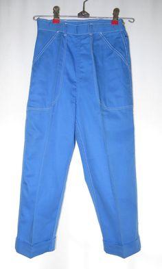 Vintage 50s Capris Clam Diggers Pants by PopRocksNSodaVintage
