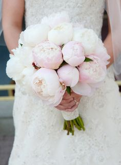 Peony Bouquet with Lilly of the valley... Beautiful!