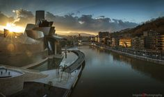 BILBAO/sunset panorama | Flickr - Photo Sharing!