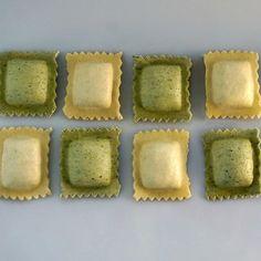 Butternut squash stuffed in egg pasta.  Spinach and cheese stuffed into spinach pasta. Holy Ravioli !!! #ohiocitypasta @westsidemarket #ravioli #foodporn #foodie #instagood #cleveland #columbus #pittsburgh #cincinnati #chicago @heinens @lakeroadmarket @gianteagle @pghpubmarket