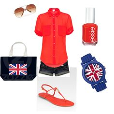 British. Totes would wear this to a One Direction concert. ;)