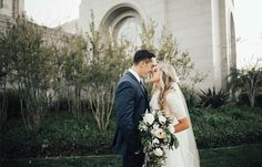 modest wedding dress with long sleeves from alta moda. -- (modest bridal gown) photo by alice cannon