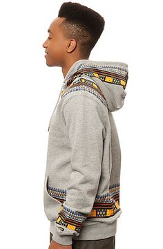 The Dashiki Hoody in Heather Grey African Attire For Men, African Wear, African Inspired Fashion, African Men Fashion, Poncho Outfit, Sweater Design, T Shirt Diy, Dress Codes, Reggae
