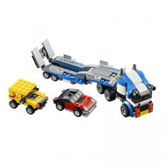 A 264-piece building set that offers three builds in one set.