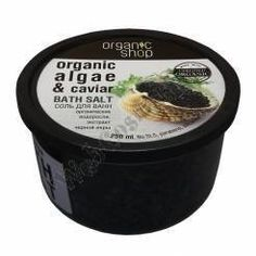 """Bath Salt """"Caviar"""" 250 Ml Organic Seaweed Extract Caviar And Sea Salt by Organic Shop. $2.99. Luxurious mix of organic seaweed extract caviar and sea salt can make the procedure a bath in SPA-ritual. Caviar extract rejuvenates algae give it elasticity and velvety.How to use Dissolve 4 tablespoons around the bath at a temperature of 36-38 C. The duration of the procedure is 10-15 minutes.. Save 67%!"""
