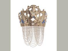 Yemoja Crystal Sapphire Crown