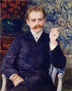 Oil Painting Albert Cahen DAnvers1881 By PierreAuguste Renoir Printing On High Quality Polyster Canvas  12x15 Inch  30x38 Cm the Best Wall Art Decor And Home Decor And Gifts Is This Replica Art DecorativePrints On Canvas