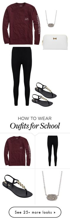 """""""School day"""" by marthaec on Polyvore featuring Vineyard Vines, Boohoo, IPANEMA, Kendra Scott and Ted Baker"""