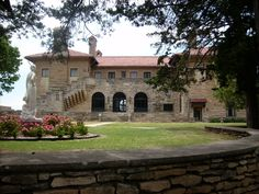 Marland Mansion, Ponca City, OK - our wedding reception was here. Although it was covered in snow!!!