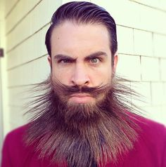 Isaiah Webb incredibeard barbe incroyable 14   Incredibeard   Isaiah Webb et sa barbe incroyable   tumblr transformation photo maquillage Is...