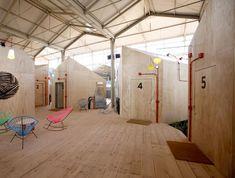 Red Bull Music Academy by Langarita-Navarro Arquitectos.
