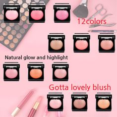 natural glow and highlight to the face. NYX baked blush 12colors  Shop now!  http://www.ikatehouse.com/nyx-baked-blush-cf1082.html  #ikatehouse #makeup #beauty #fashion #beautyproducts #cheap #NYXcosmetics #lovely #cosmetic