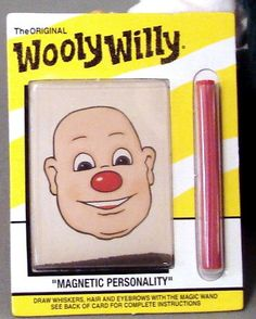 Wooly Willy had no hair...  until I put it there.
