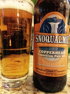 Beer #117. 4/19/15 Copperhead American Pale Ale. Snoqualmie. A very clear beer that I found lacking in fullness of flavor. Unimpressed. 2.0 Stars.