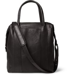 Maison Martin Margiela Leather Tote Bag | MR PORTER