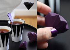Origami-Diamanten | DIY LOVE
