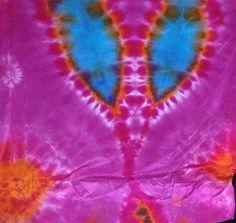 Silk Tie Dye Tapestry by purplesunflowerdyes on Etsy