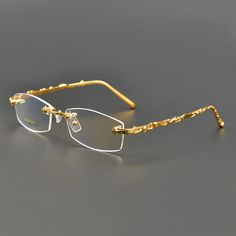 885ea7f5410 prescription eyewear Picture - More Detailed Picture about Brand New 100%  Pure Titanium Rimless Eyeglasses