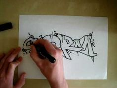 NEW * Graffiti Tutorial * Simple Sketch - YouTube