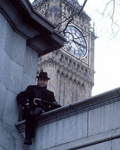 Promotional image for Granada's Sherlock Holmes series.