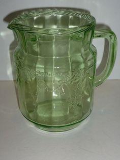 Hocking Depression Glass | ... /Ballerina Anchor Hocking Depression Glassware Glass Pottery & Glass