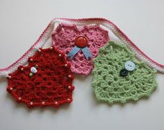 Crocheted Hearts and other free patterns