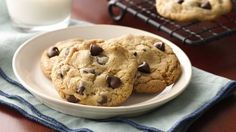 Learn how to make Betty's best chocolate chip cookies from scratch in three simple steps.