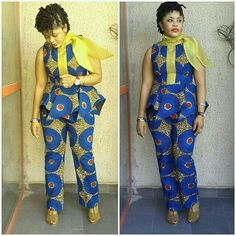 Whenever there is a need to rock the beautiful Ankara fabric everyone tend to put on their best to ensure they stun in whatever style they settle for. The fact… African Fashion Designers, African Dresses For Women, African Print Fashion, Africa Fashion, African Attire, African Wear, African Fashion Dresses, African Women, African Style