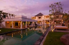 Villa Ombak Putih Pool Main Villa