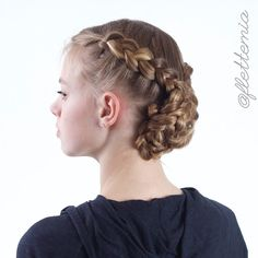 """Dutch braids and rope braided bun "" Photo taken by @flettemia on Instagram, pinned via the InstaPin iOS App! http://www.instapinapp.com (03/14/2015)"