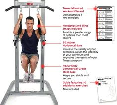 Try this site http://www.weightracksandmore.com for more information on weider power tower. The Weider 200 Power Tower is well made, sturdy, comfortable, and has a lot of positive reviews for all those reasons. This is an excellent product to help you get a total upper body workout in the privacy and comfort of your own home. Therefore it is imperative that you choose the best and the most effective weider power tower. Follow us: http://powertowerreviews.wordpress.com