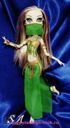 Украшения восточной танцовщицы для кукол Монстр Хай | Monster High Club