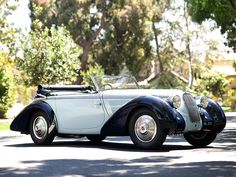 Talbot-Darracq T23 Drop Head Coupe par Figoni & Falaschi '1938
