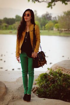 Green jeans!