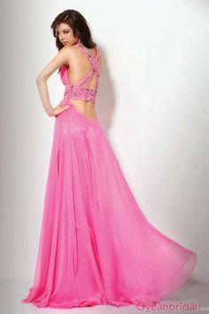 Gorgeous New Arrival A-line V-Neck Beading Ruched Floor Length Evening Dresses/Prom Dresses ED-2155