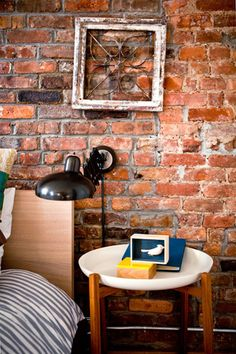 I miss my brick wall bedroom.