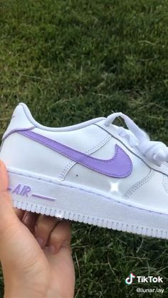 Nike Air Force, Air Force One Shoes, White Nike Shoes, Nike Air Shoes, Nike Air Jordans, Nike Custom Shoes, Cool Nike Shoes, Customised Shoes, Custom Made Shoes
