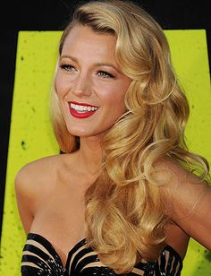 Top 15 Long Hairstyles - Daily Makeover Blake lively is so beautiful I love this look
