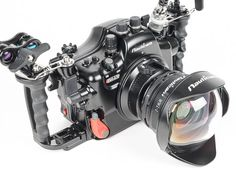 Nauticam a7II+WWL Lens. Read more about Sony Underwater Systems from Optical Ocean Sales!