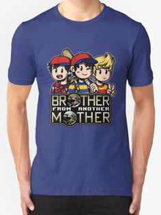 Another MOTHER Trio -alt- (Ness, Ninten & Lucas) by Martin Wright
