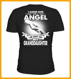 I asked god for a angel he sent me - Shirts für großeltern (*Partner-Link)