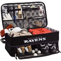 Shop for Men's NFL Luggage Golf Trunk/Locker Organizer Green Bay Packers/Green. Get free delivery On EVERYTHING* Overstock - Your Online Golf Equipment Destination! Nfl Detroit Lions, Nfl Chicago Bears, Nfl Houston Texans, Dallas Cowboys, Nfl Dallas, Falcons Football, Cowboys 4, Locker Organization, Locker Storage